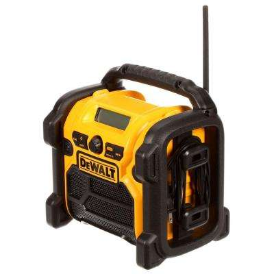Corded/Cordless Compact Worksite Radio