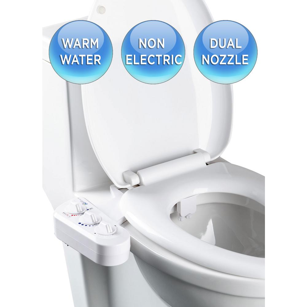 Bio Bidet Installation Instructions.Biobidet Economy Class Duo Bidet Attachment In White Bb 270 The