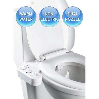 Economy Class DUO Bidet Attachment in White
