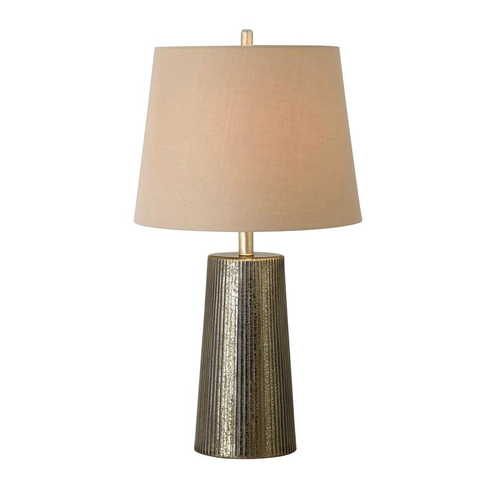 Kenroy Home Templeton 28 in. Gold Flecked Table Lamp-DISCONTINUED