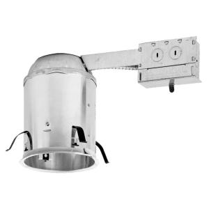 Aluminum Recessed Lighting Housing for Remodel Ceiling Insulation Contact Air  sc 1 st  The Home Depot & Halo H750 6 in. Aluminum LED Recessed Lighting Housing for Remodel ... azcodes.com