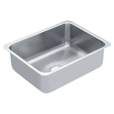 1800 Series Undermount Stainless Steel 21 in. Single Bowl Kitchen Sink