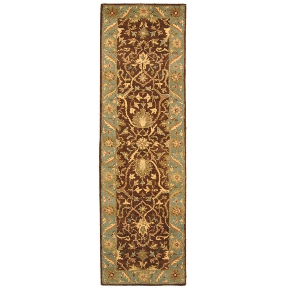 Safavieh Antiquity Brown/Green 2 ft. 3 in. x 8 ft. Runner