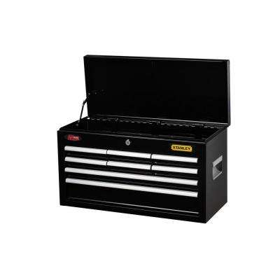 24 in. 8-Drawer Tool Chest, Black