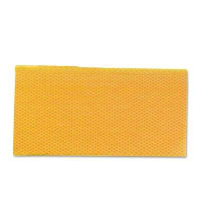 23-1/4 in. x 24 in. Orange and Yellow Cloth Duster 20-Count (5-Pack)