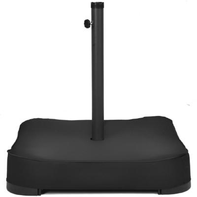 220 lbs. Steel Patio Umbrella Base Stand Holder in Black