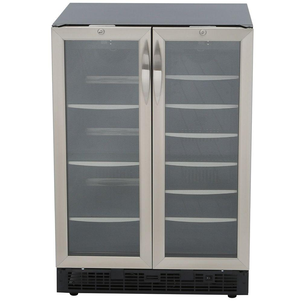 Danby Silhouette 27-Bottle Built-In Wine Cooler and 60-Can Beverage Center