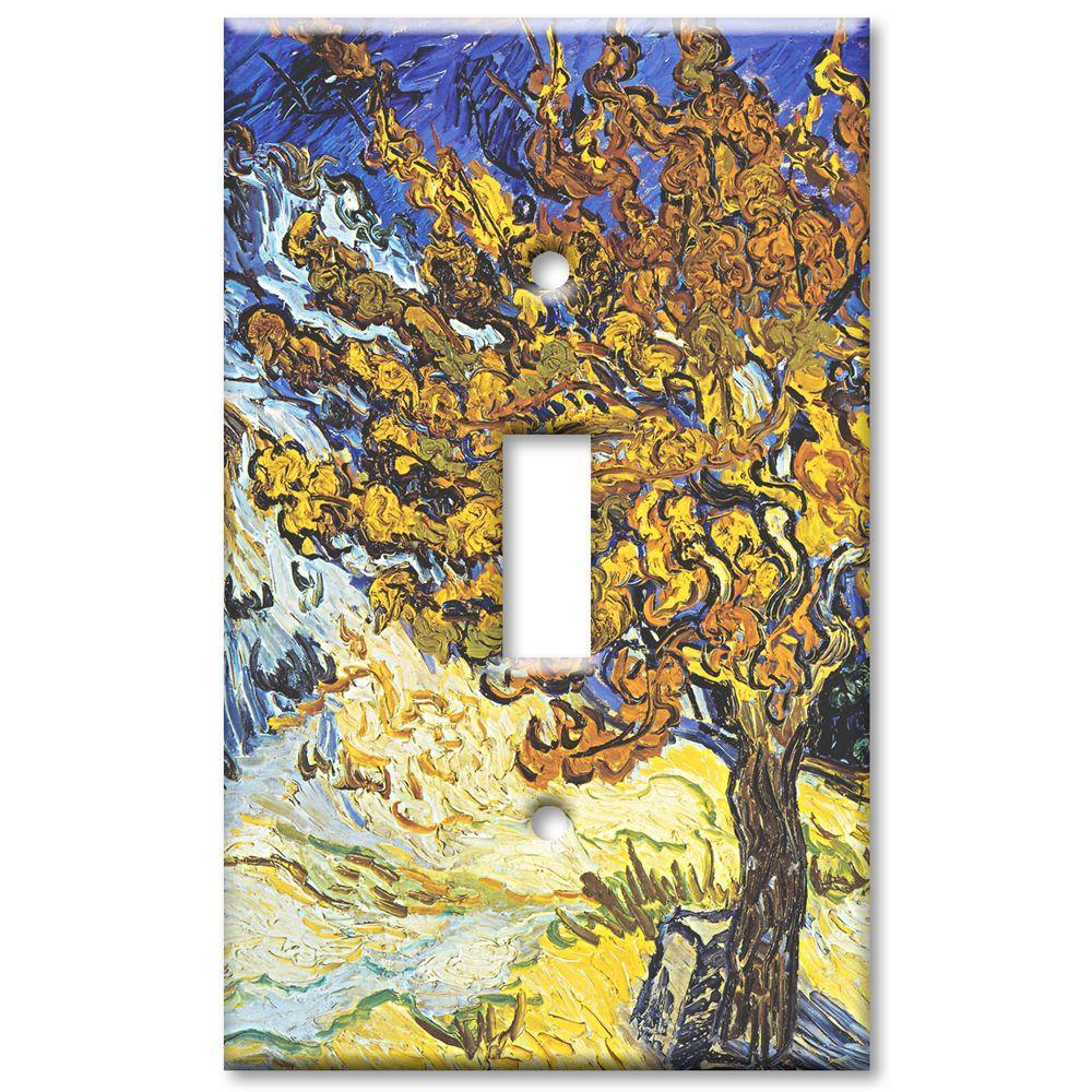 Art Plates Van Gogh Mulberry Tree Oversize 1 Wall Plate