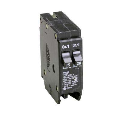 BD 1-15 Amp 1-20 Amp Single Pole Tandem CTL Circuit Breaker