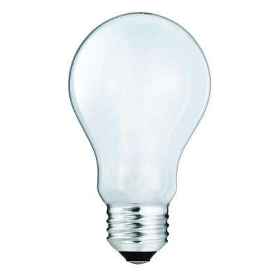 40-Watt Equivalent Incandescent A19 Light Bulb (4-Pack)