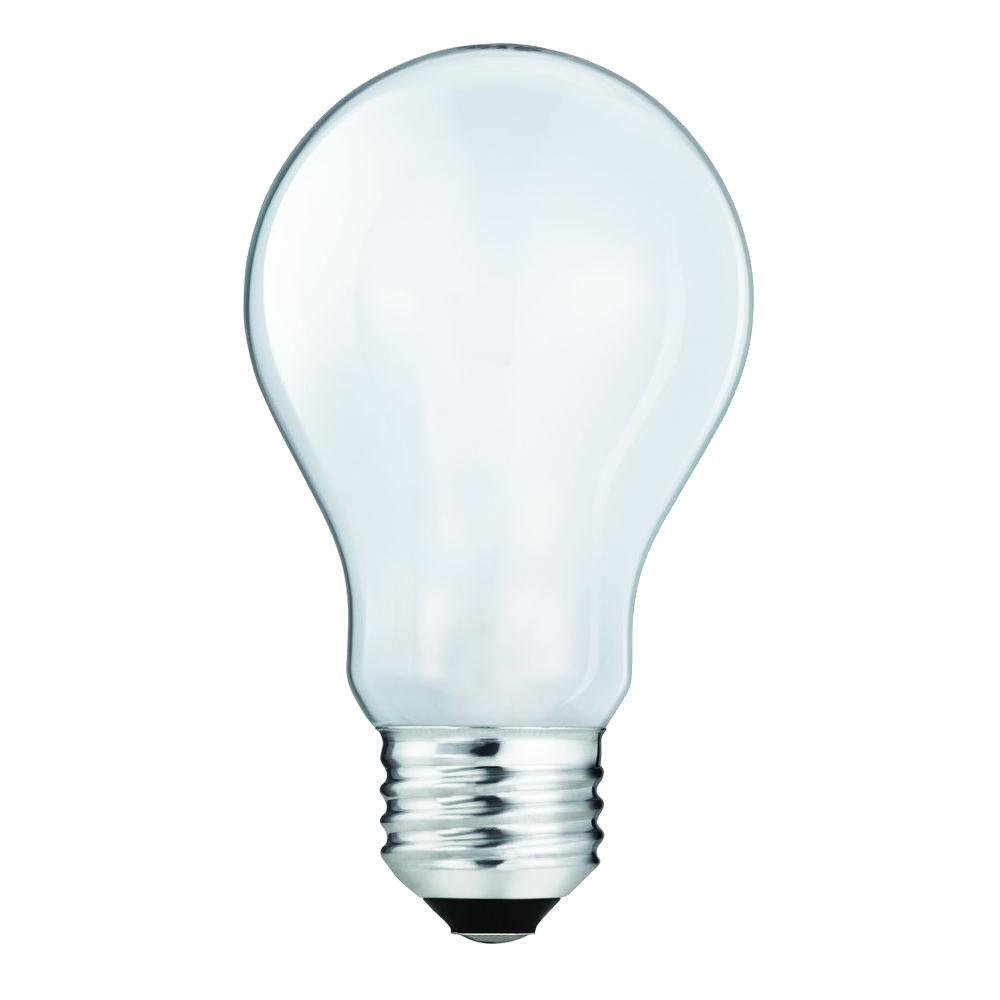 40-Watt Equivalent Incandescent A19 Light Bulb (4-Pack)