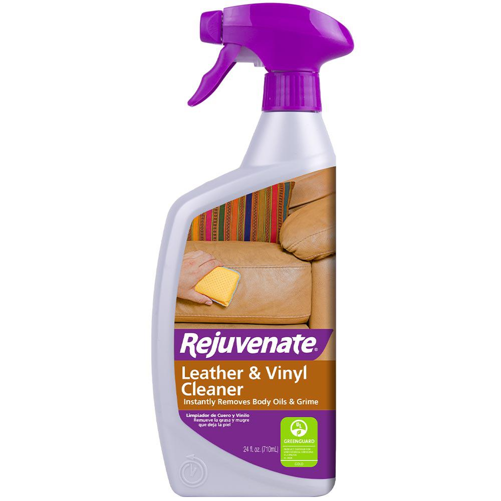 Rejuvenate 24 oz. Leather and Vinyl Cleaner