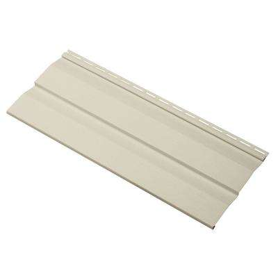Transformations Double 4.5 in. x 24 in. Dutch Lap in Vinyl Siding Sample in Sand