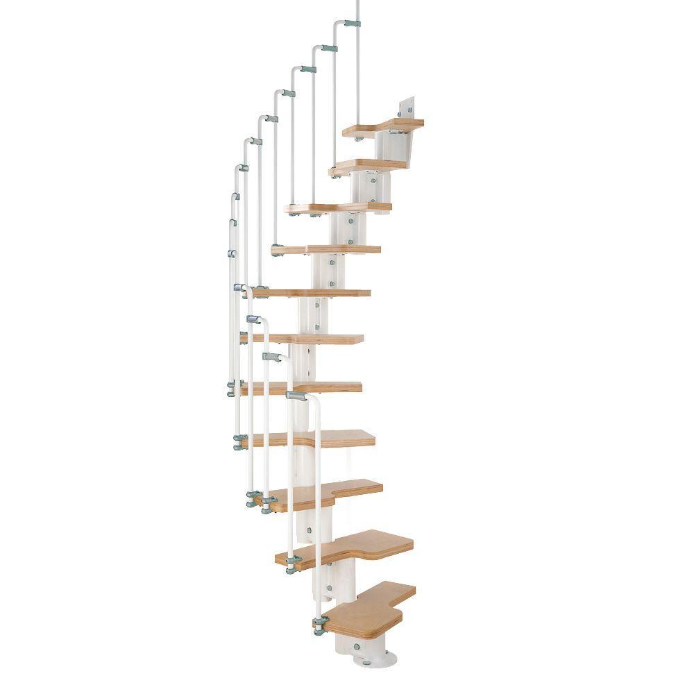 Arke Karina White Modular Staircase Kit