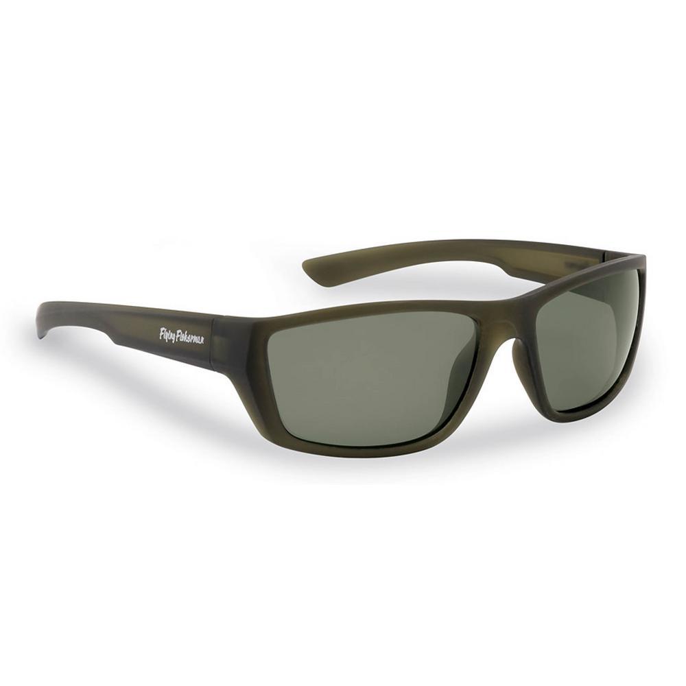 f68ba480bd Flying Fisherman. Tailer Polarized Sunglasses Matte Moss Frame with Smoke  Lens