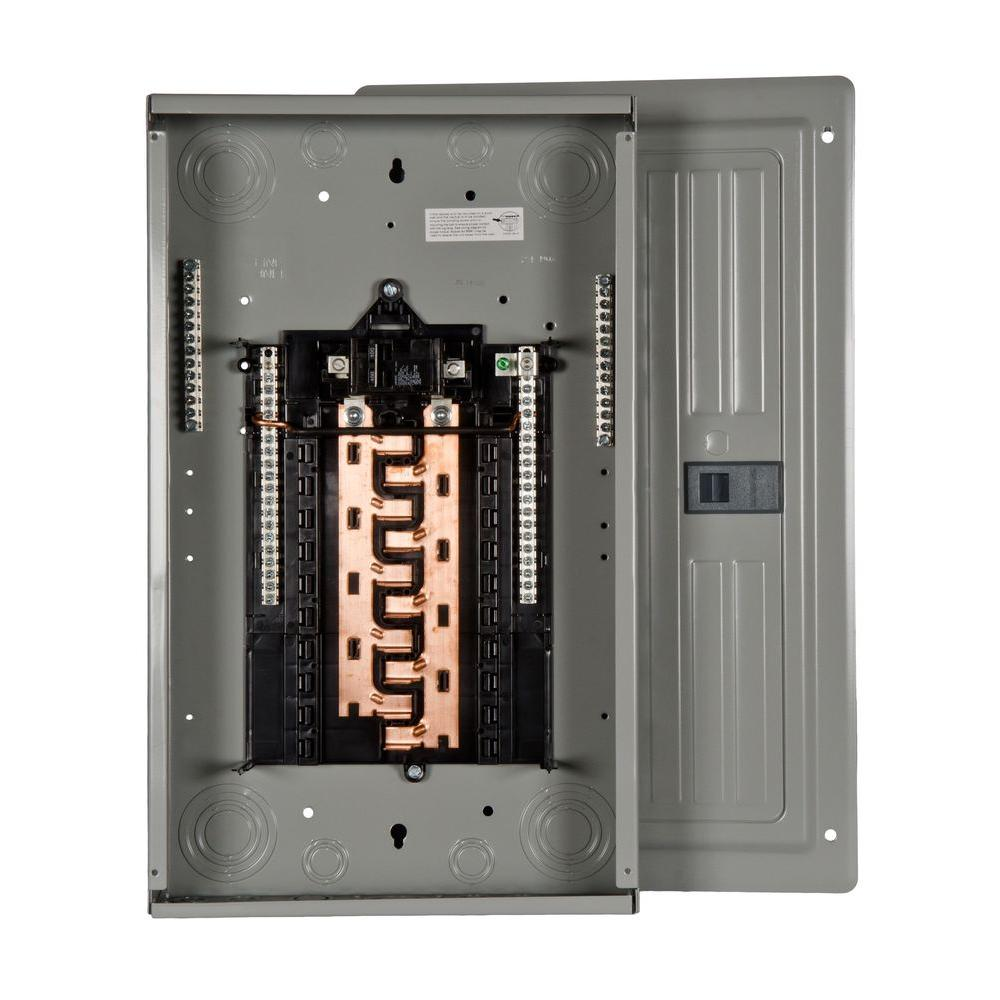 PL Series 100 Amp 20-Space 20-Circuit Main Breaker Indoor Load Center