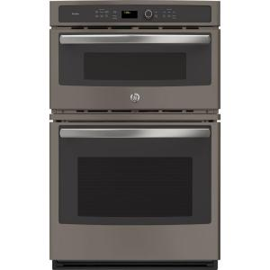 Built In Combination Convection Microwave Wall Oven Slate Pk7800ekes The Home Depot