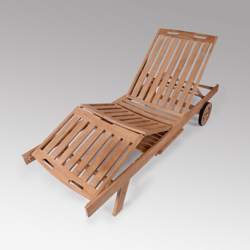 Cambridge Casual Heaton Wood Outdoor Adjustable Chaise ...