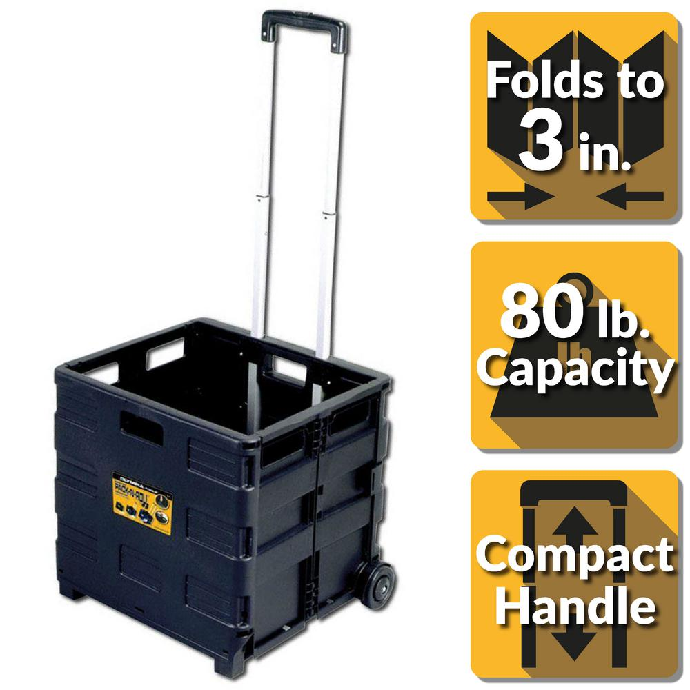 Grand Pack-N-Roll 18 in. Folding Utility Cart