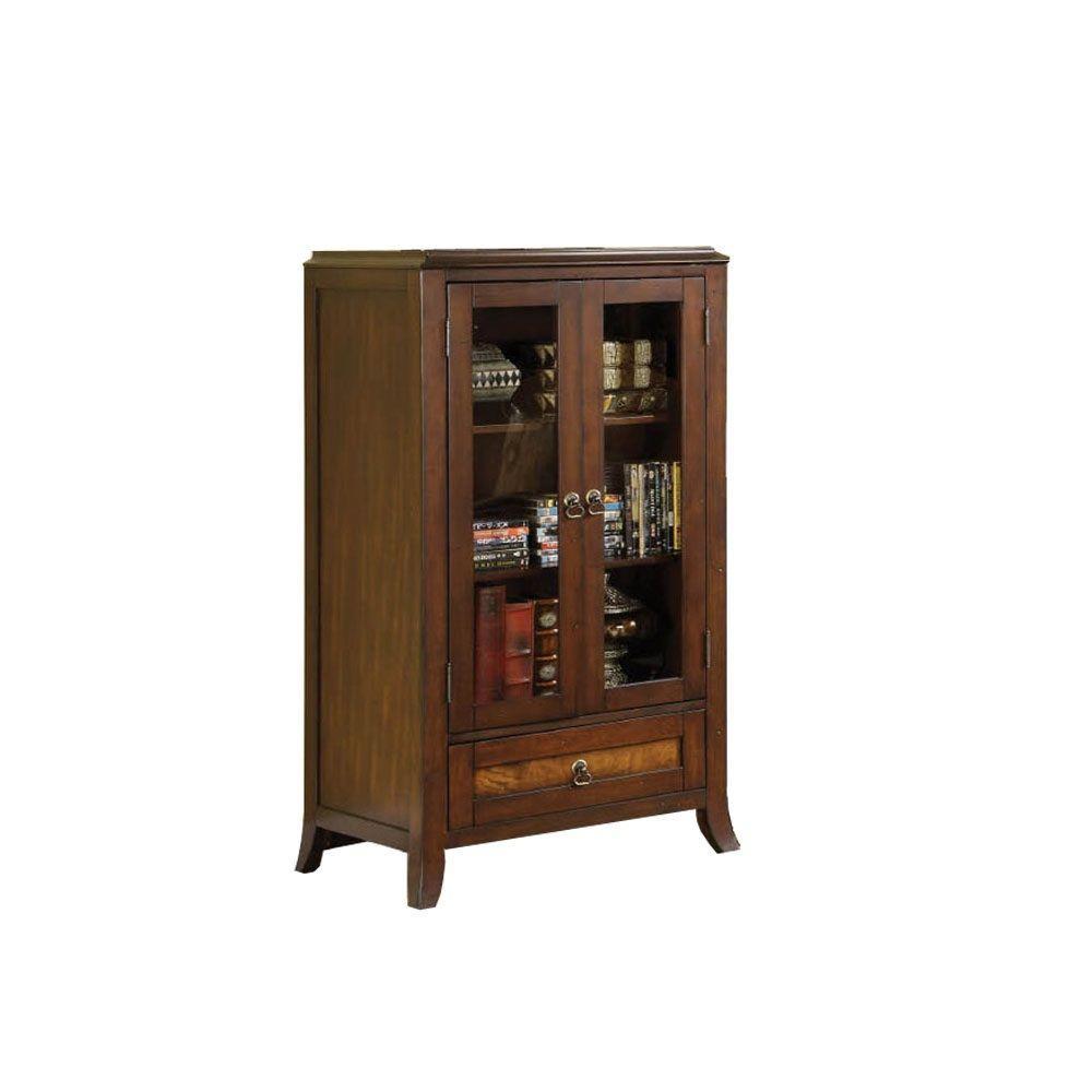 Furniture of America Kassandra Pier Cabinet 28 in. L x 20 in. W x 50 in. H