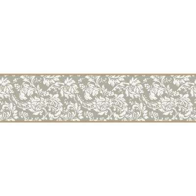 Bistro 750 Damask Wallpaper Border