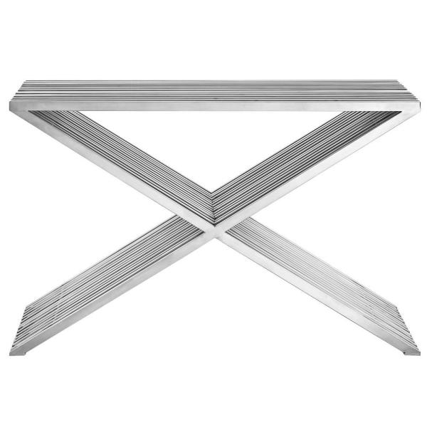 MODWAY Silver Press Console Table