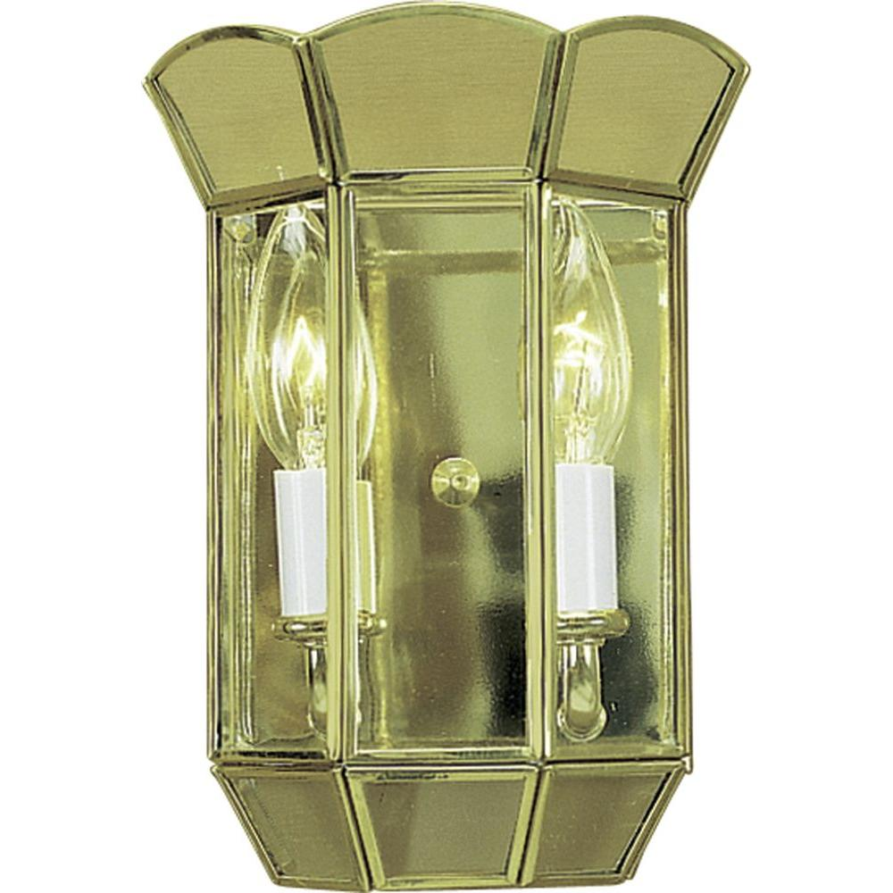 Volume Lighting 2-Light Polished Brass Interior Wall Sconce-V5012-2 ...