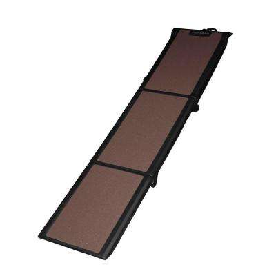 71 in. L x 16 in. W x 4 in. H Travel-Lite Tri-Fold Pet Ramp