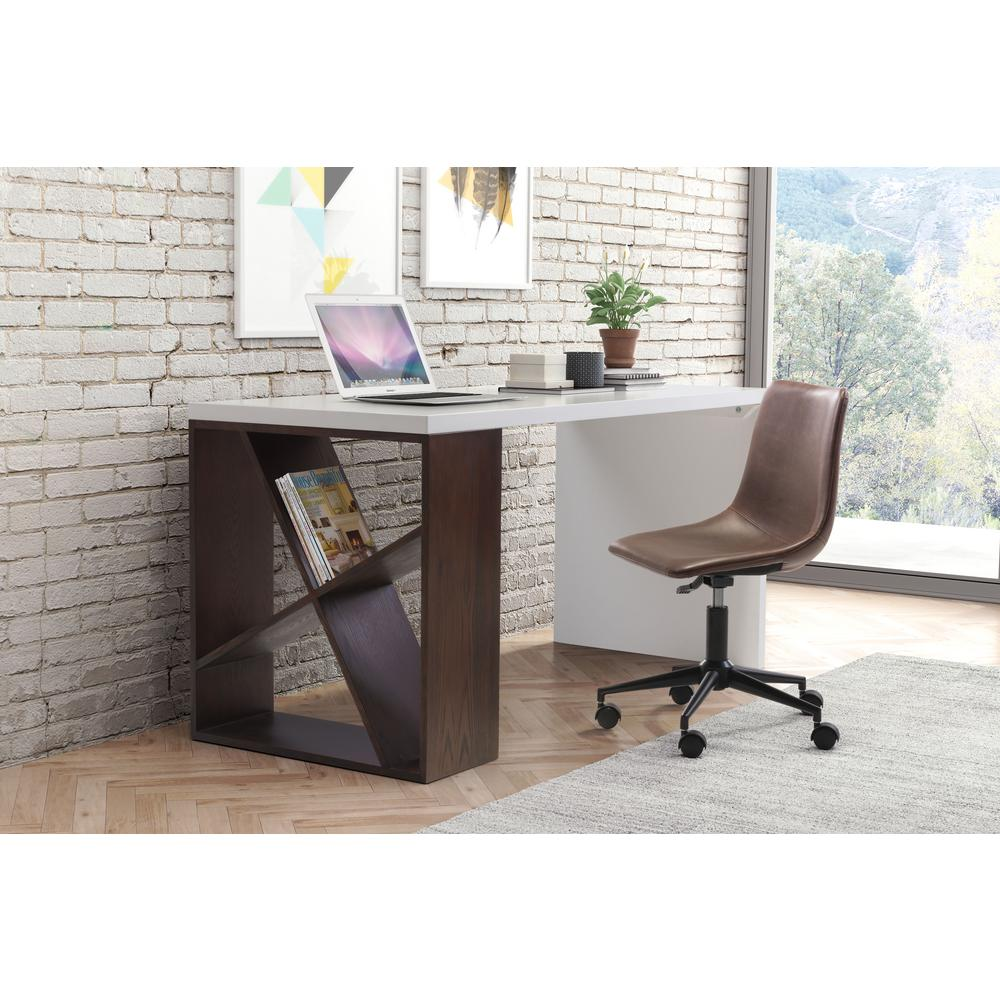 ZUO Smart Espresso Office Chair