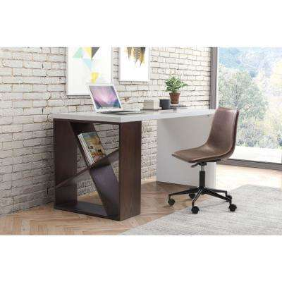 Smart Espresso Office Chair