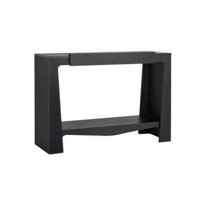 Alana Black Console Table