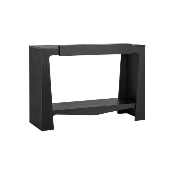 Furniture Of America Alana Black Console Table
