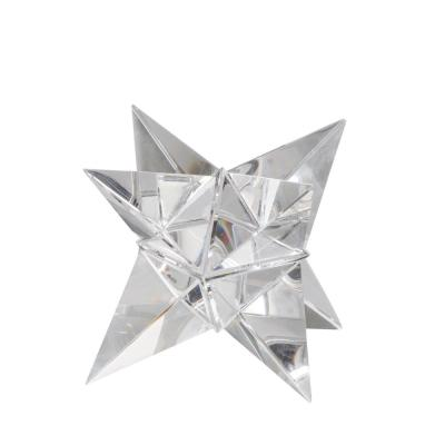 6 in. Crystal Star Ornament Clear