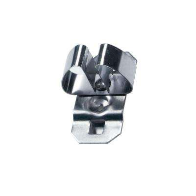 Standard Spring Clip, Hold Range 1/2 in. - 3/4 in. for Stainless Steel LocBoard, (3-Pack)