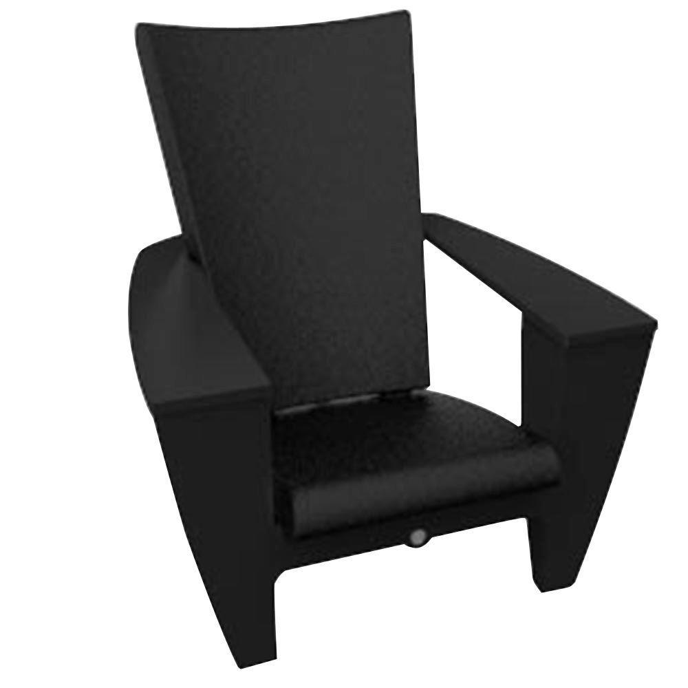 Filament Design Twist Productions Black Patio Chair