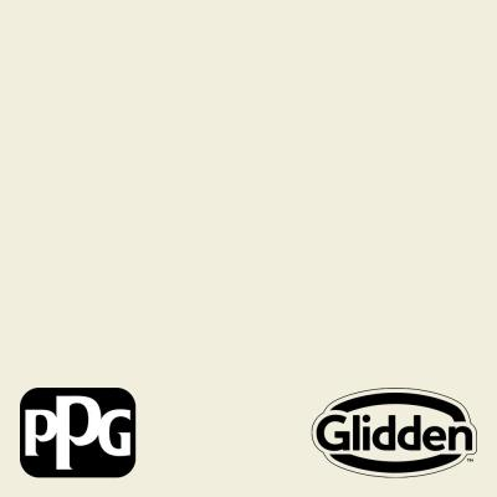 Glidden Premium 5 gal. #HDGCN55U Queen Anne's Lace Satin Interior Paint with Primer