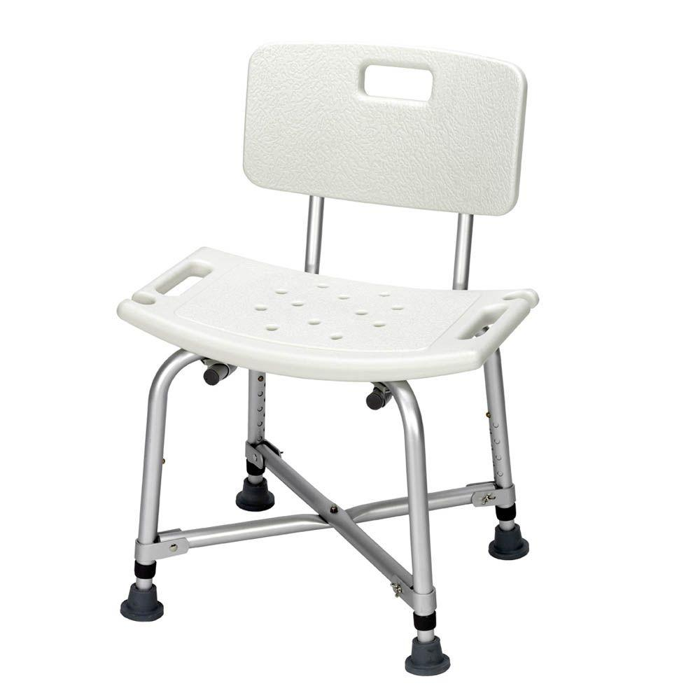 null Revolution Mobility Bariatric Shower Bench with Back