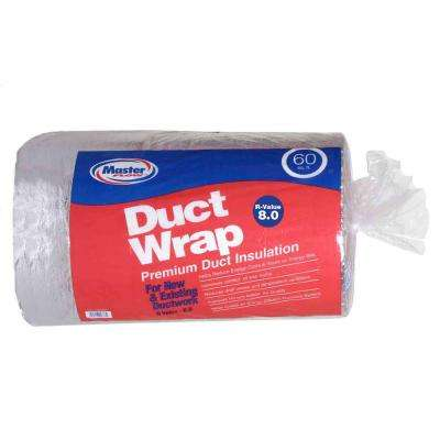 Master Flow 60 sq  ft  R-8 Insulated Duct Wrap-INSWRP60R8