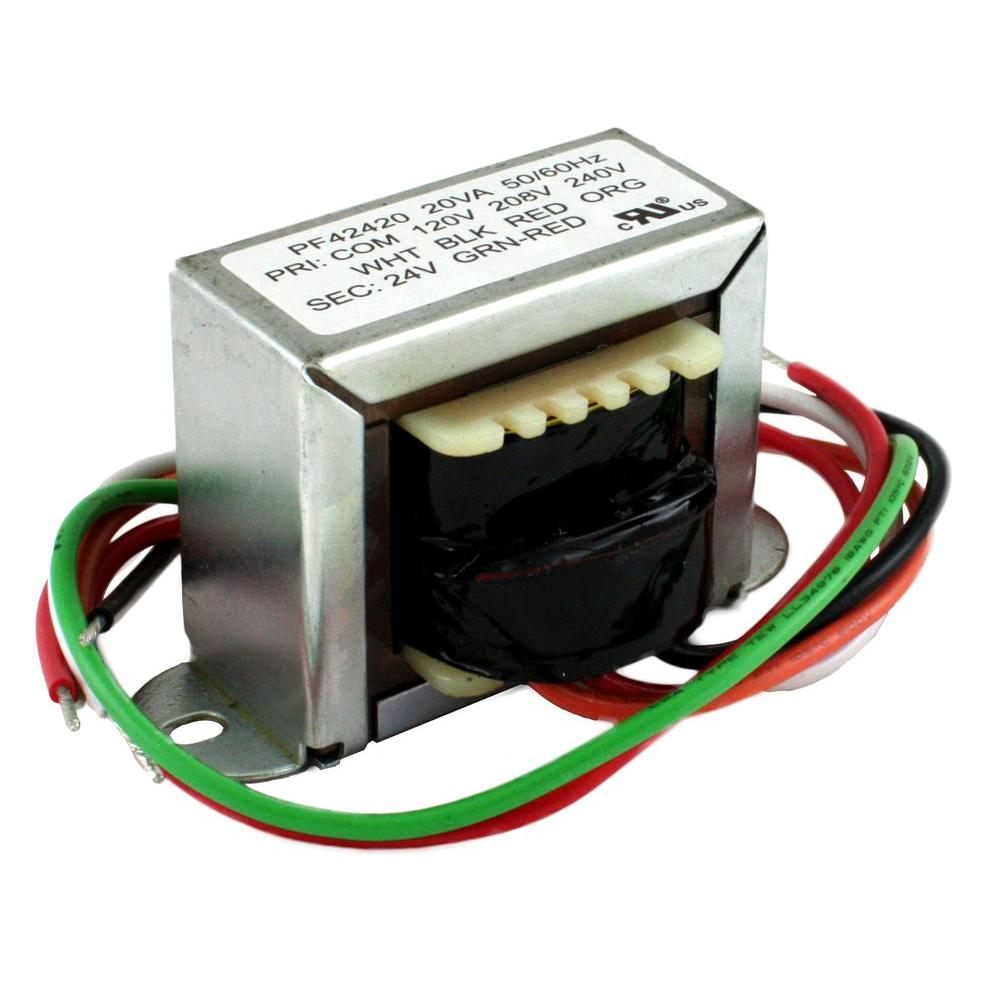packard 20va 120 20 240 volt 24 volt secondary 2 ft mount transformer 12 Volt Plug in Transformer