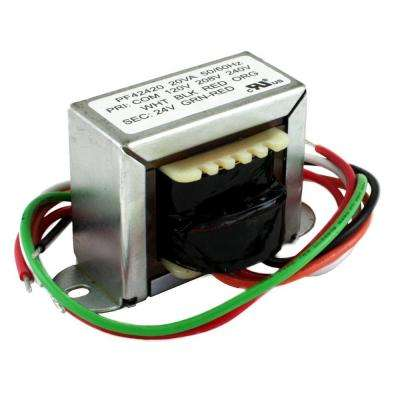20VA 120/20/240-Volt 24-Volt Secondary 2 ft. Mount Transformer