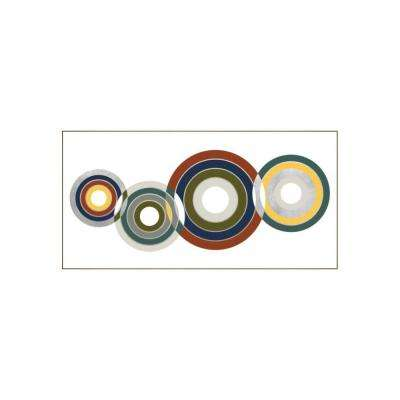 "37.25 in. x 73.25 in. ""Rollin I"" by Bobby Berk Printed Framed Wall Art"