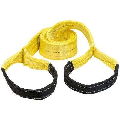 4 in. x 10 ft. 2 Ply Flat Loop Polyester Lift Sling