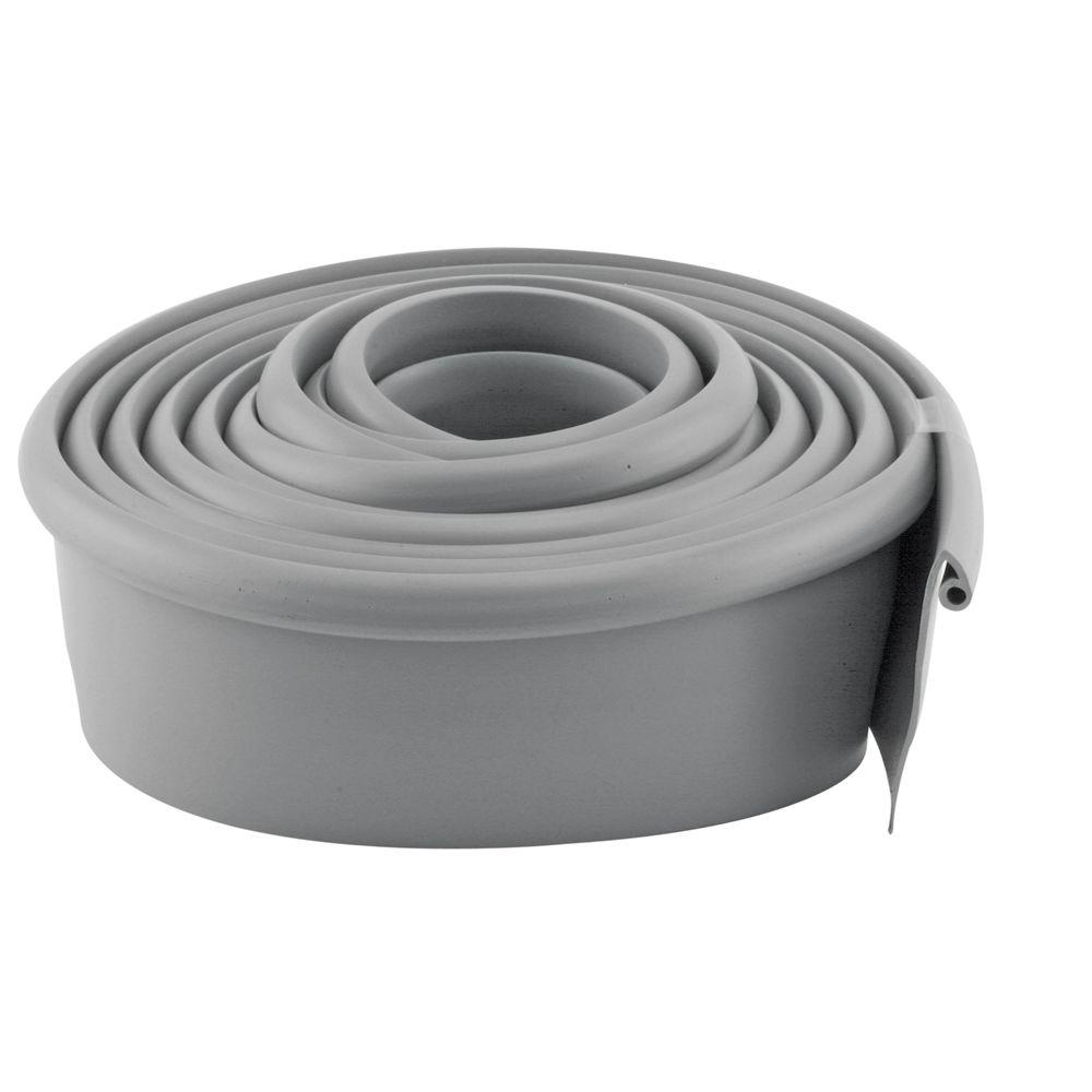 Prime Line 10 Ft Gray Vinyl Garage Door Bottom Seal Gd