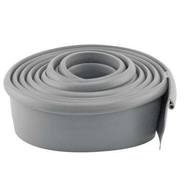 10 ft. Gray Vinyl Garage Door Bottom Seal