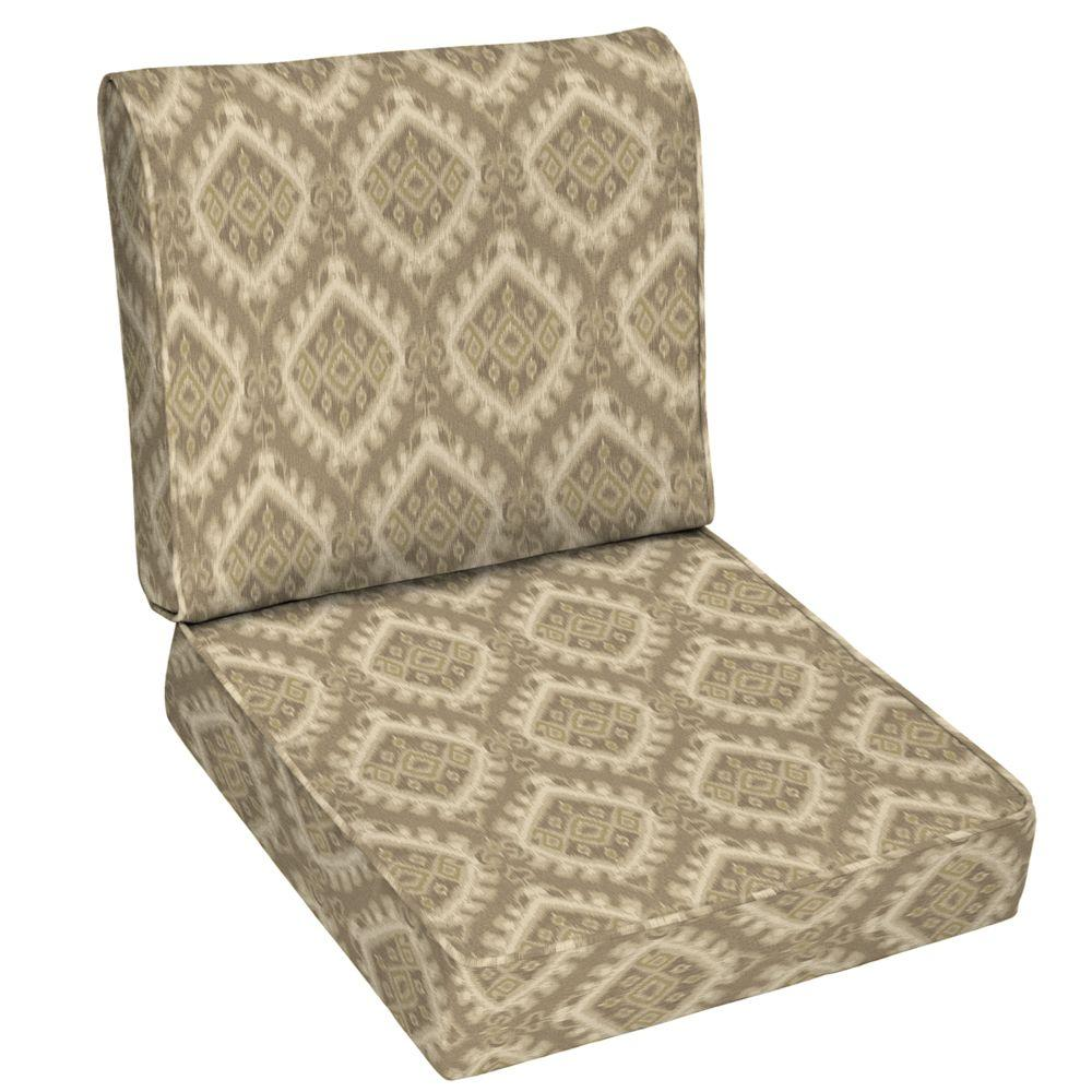 Arden Columbus 2-Piece Outdoor Deep Seating Cushion-DISCONTINUED