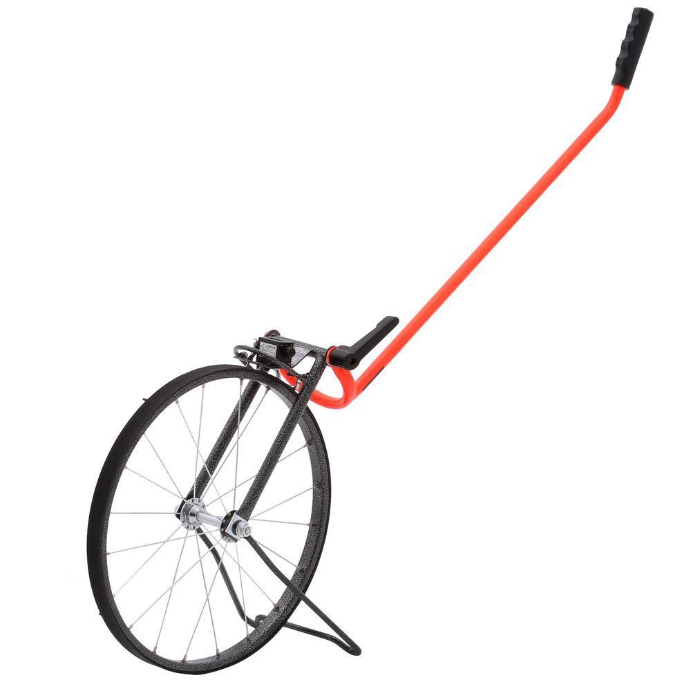 15-1/2 in. Single Measuring Wheel Feet