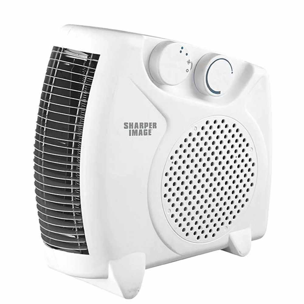 Sharper Image 9 5 In White Table Top Adjustable Heater