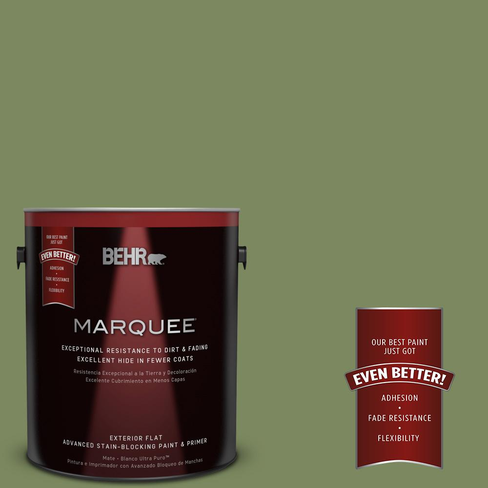 BEHR MARQUEE 1-gal. #PPU10-2 Tuscany Hillside Flat Exterior Paint