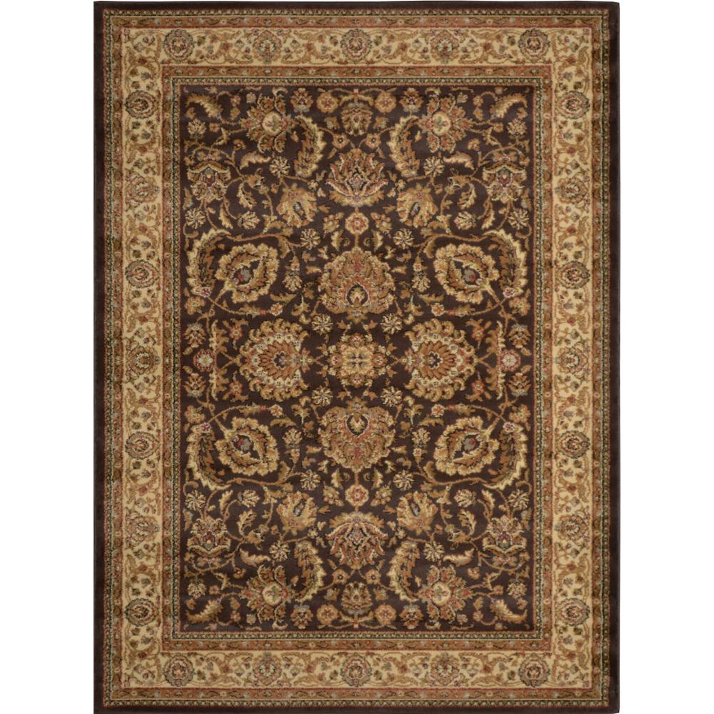 Royalty Brown/Ivory 2 ft. 7 in. x 4 ft. 2 in.