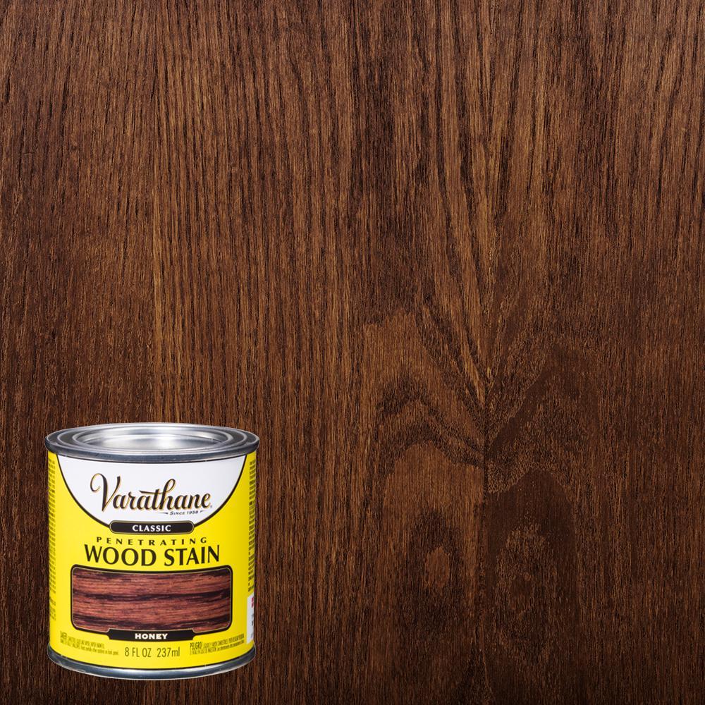 Varathane 8 oz. Honey Classic Wood Interior Stain (4-Pack)